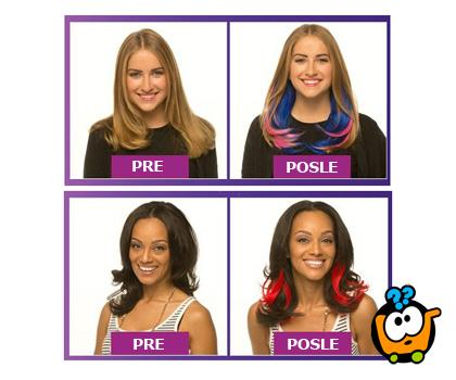 Secret Color - Neverovatne ekstenzije za otkačenu frizuru
