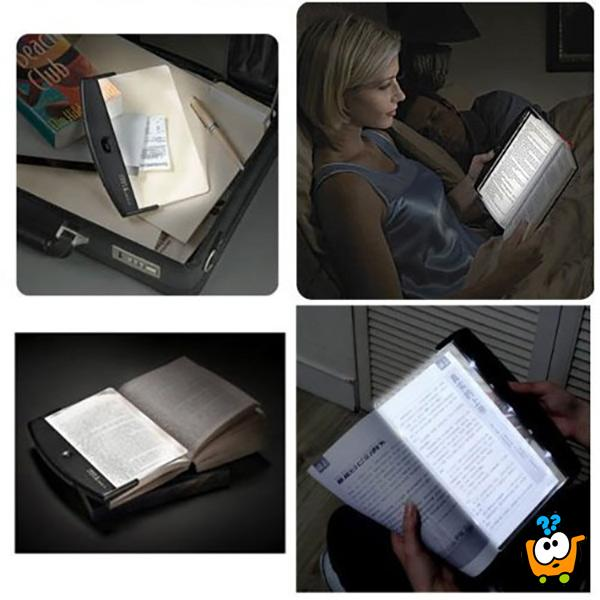 Light Panel noćno svetlo za čitanje