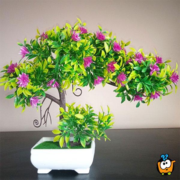 Camellia - veštačka dekorativna biljka