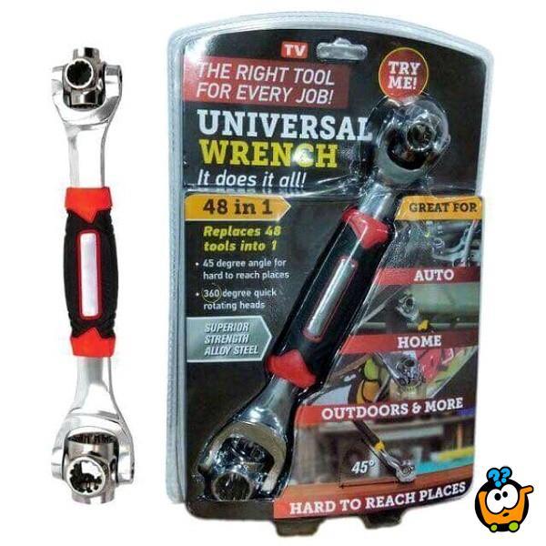Universal Wrench - Višenamenski univerzalni ključ 48 u 1