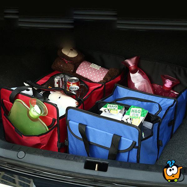 Car trunk organiser - Organizer za gepek u autu