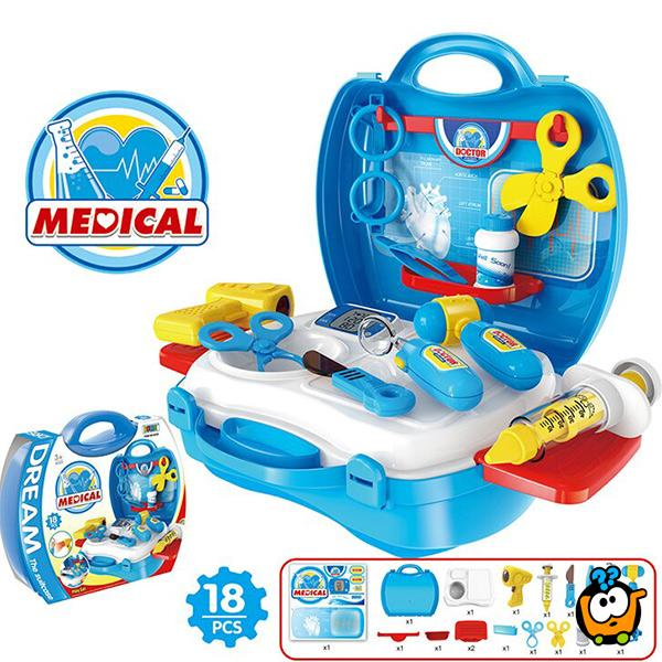 Dream kofer set - Medical - Doktorski set