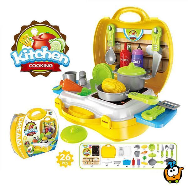 Dream kofer set - Kitchen cooking - Kuhinjski set
