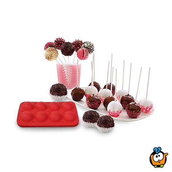 Cake POPs set - Modla + Štapići za pravljenje lizalica kolača