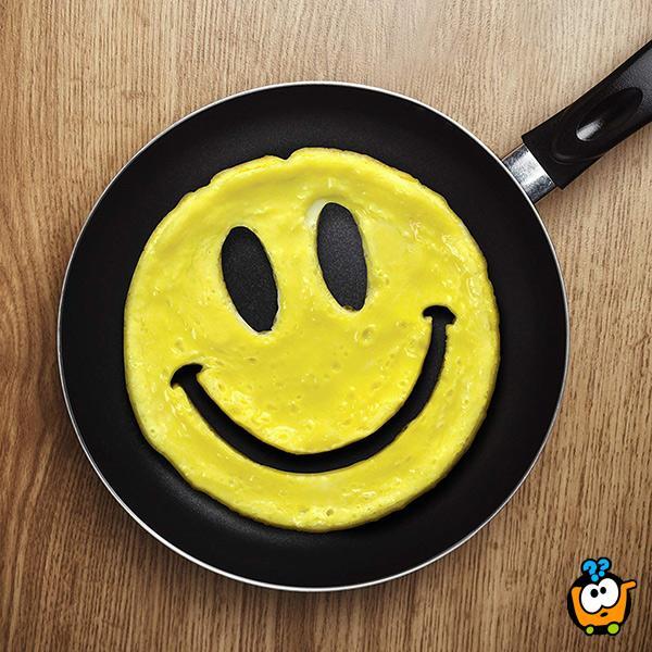 Smiley silikonska modla za jaja