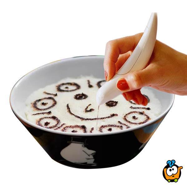 Magična olovka za dekorisanje kafe