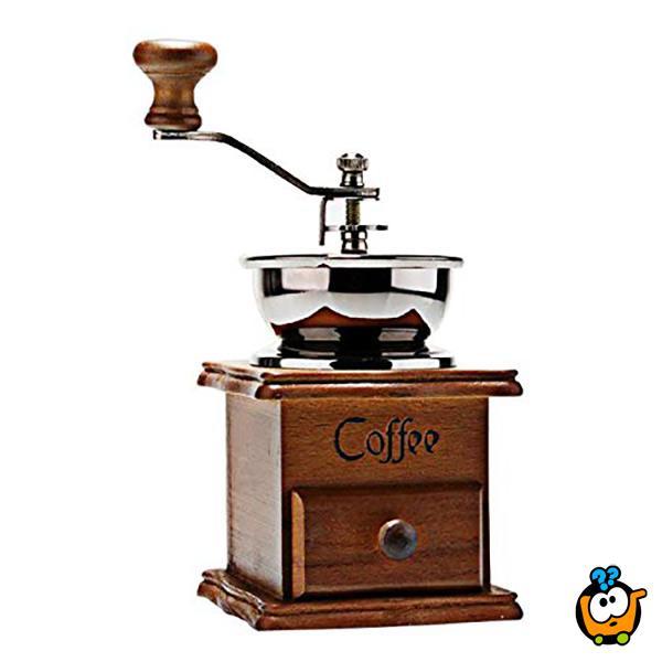 Retro ručni mlin za kafu
