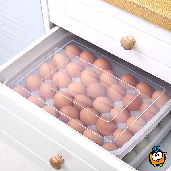 BIG EGGS BOX  - Kutija za odlaganje jaja - 34 komada