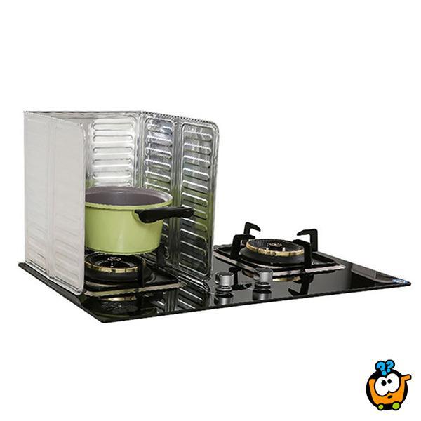 Aluminijumska zaštita od prskanja ulja tokom kuvanja