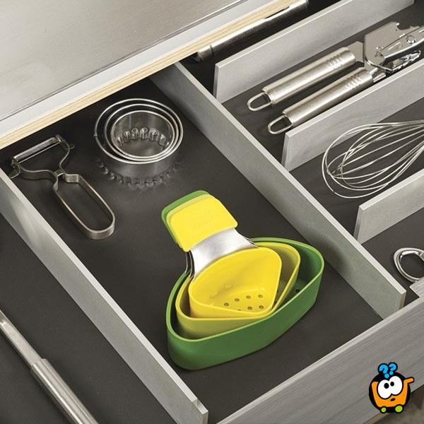 Cooking steamer - Set od 3 umetka za kuvanje na pari