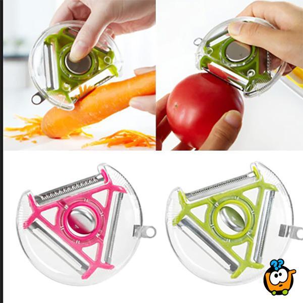 Rotary Peeler - 3u1 ljuštilica i seckalica za povrće