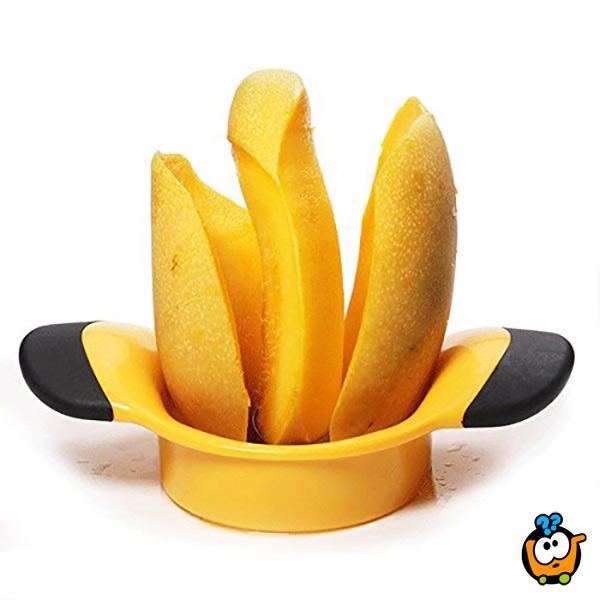 Mango sekač -  uklanja košticu i seče na pola