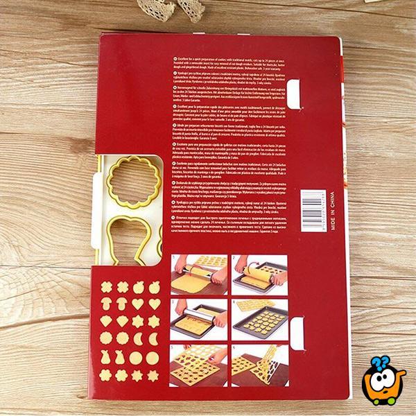 Biskvit modla - Modla za kolače sa 24 različita oblika