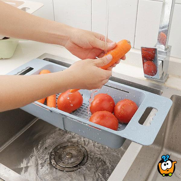 Kitchen Stainer - podesiva cediljka za sudoperu