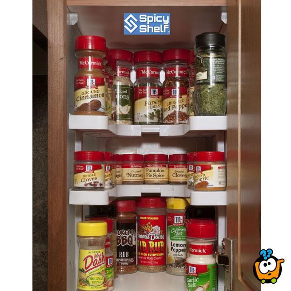Spicy Shelf - set podesivih polica za začine