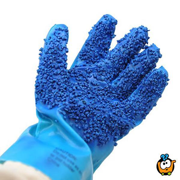 Kuhinjske rukavice ljuštilice - skidanje kore krompira bez noža