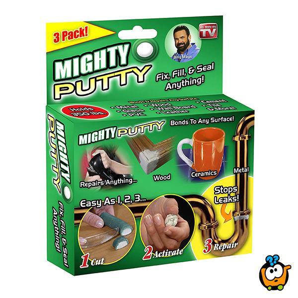 Mighty Putty - masa za popravke i snažno vezivanje svih površina
