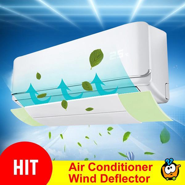 Vetrobran za klimu - za usmeravanje strujanja vazduha