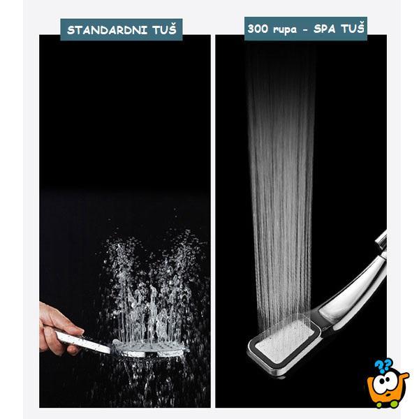 Booster Shower - Tuš sa 300 rupica za jak pritisak vode