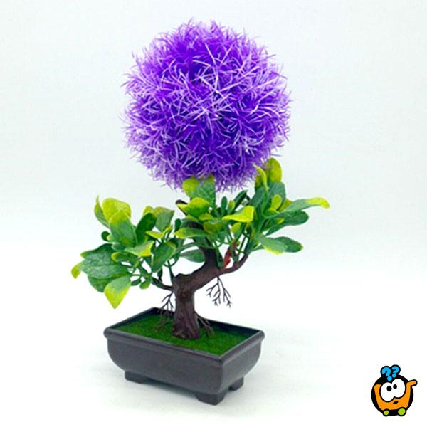 Velvet Bonsai - veštačka dekorativna biljka