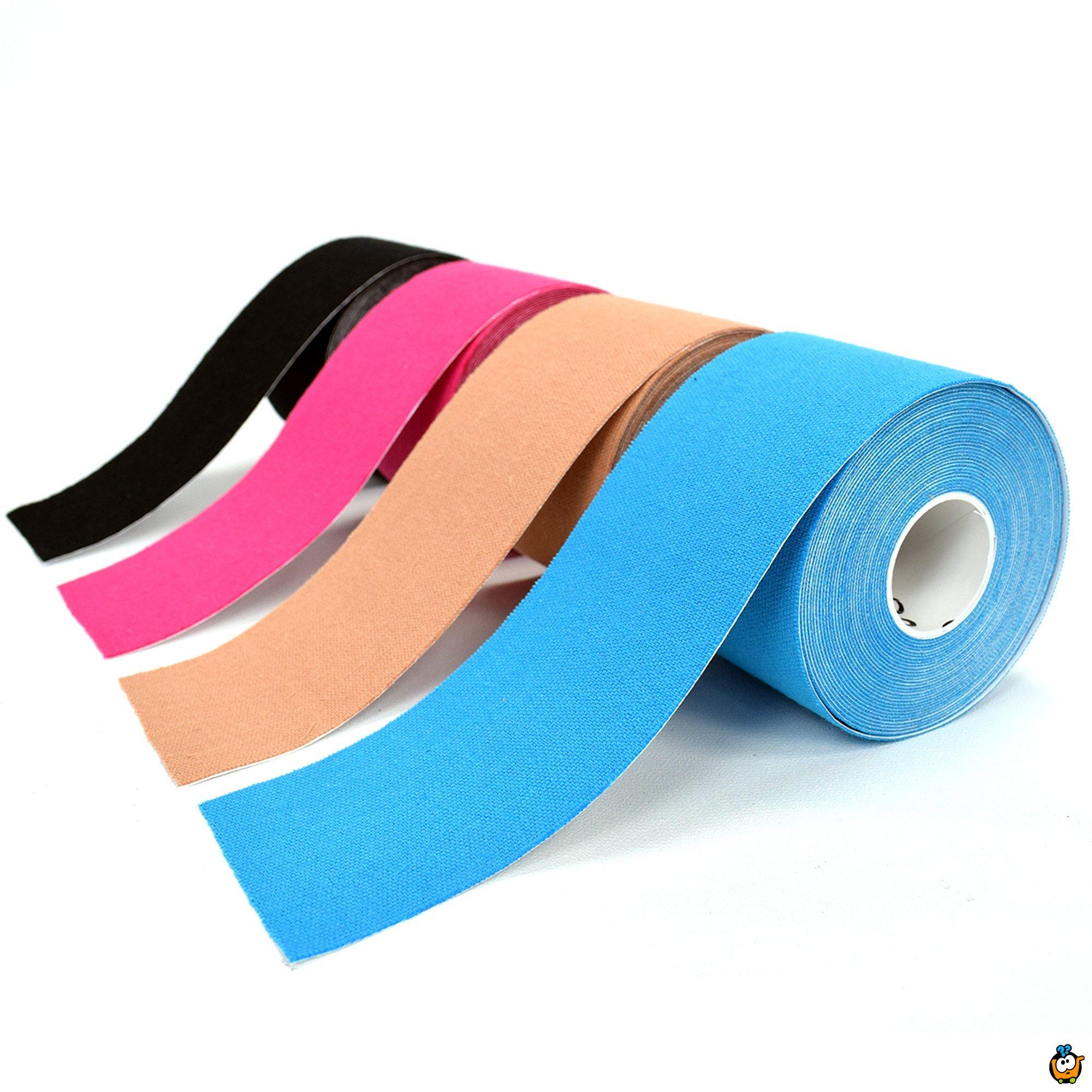 Kinesiologi tape - sportska traka protiv povreda