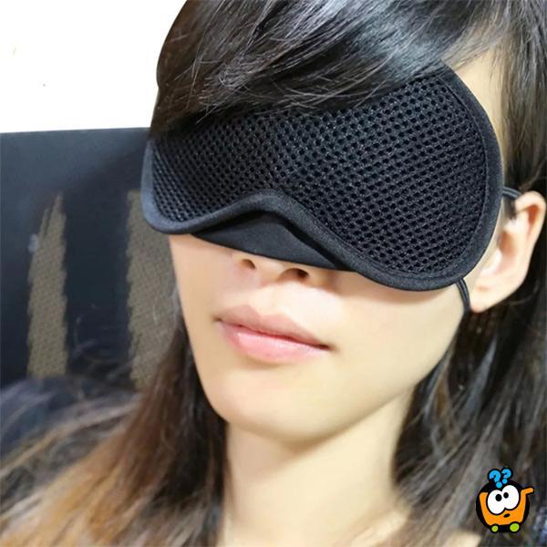 Maska za spavanje od bambusovih vlakana