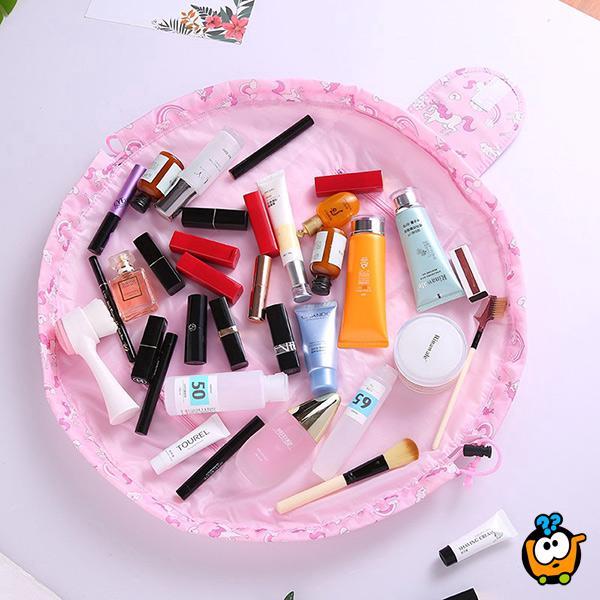 Quick Makeup Bag – sklopiva ženska torbica za kozmetiku