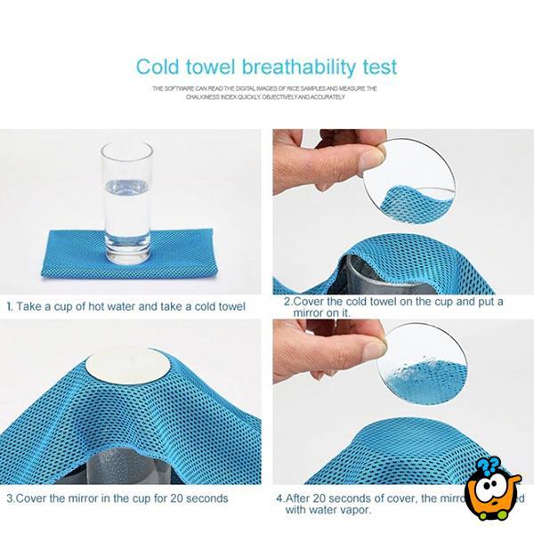 Ice Cold Towel - Magični peškir sa efektom rashlađivanja