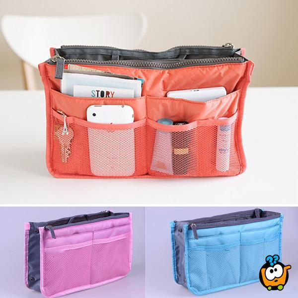 Slim bag purse organizer - Fantastičan organizer za torbu