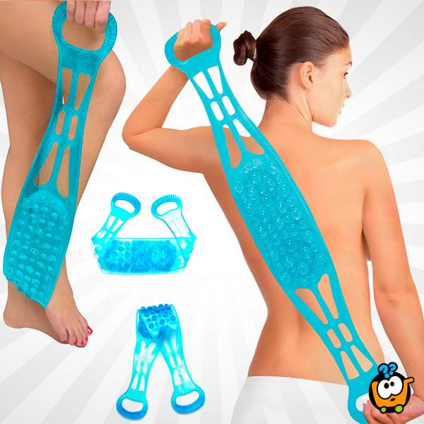 Shower Back Scrubber - Silikonska traka za pranje i masažu leđa