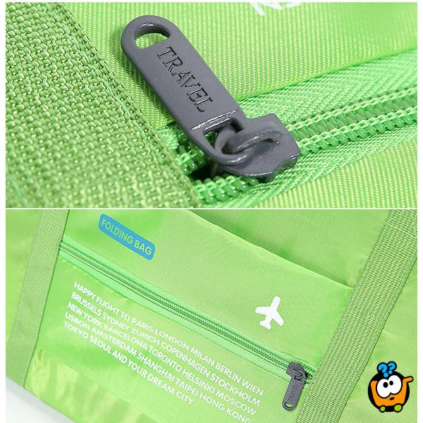 Travel bag - Praktična putna torba sa zipom
