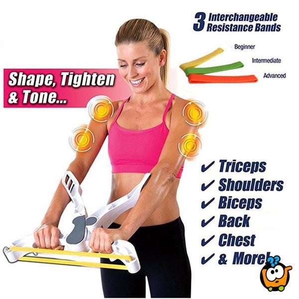 Wonder Arms - Fitnes sprava za oblikovanje ruku
