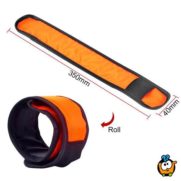 Sigurnosne svetleće narukvice - rekvizit za uočljivost na putu