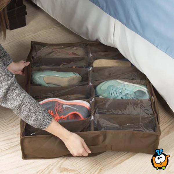 Prenosivi organizer za odlaganje obuće