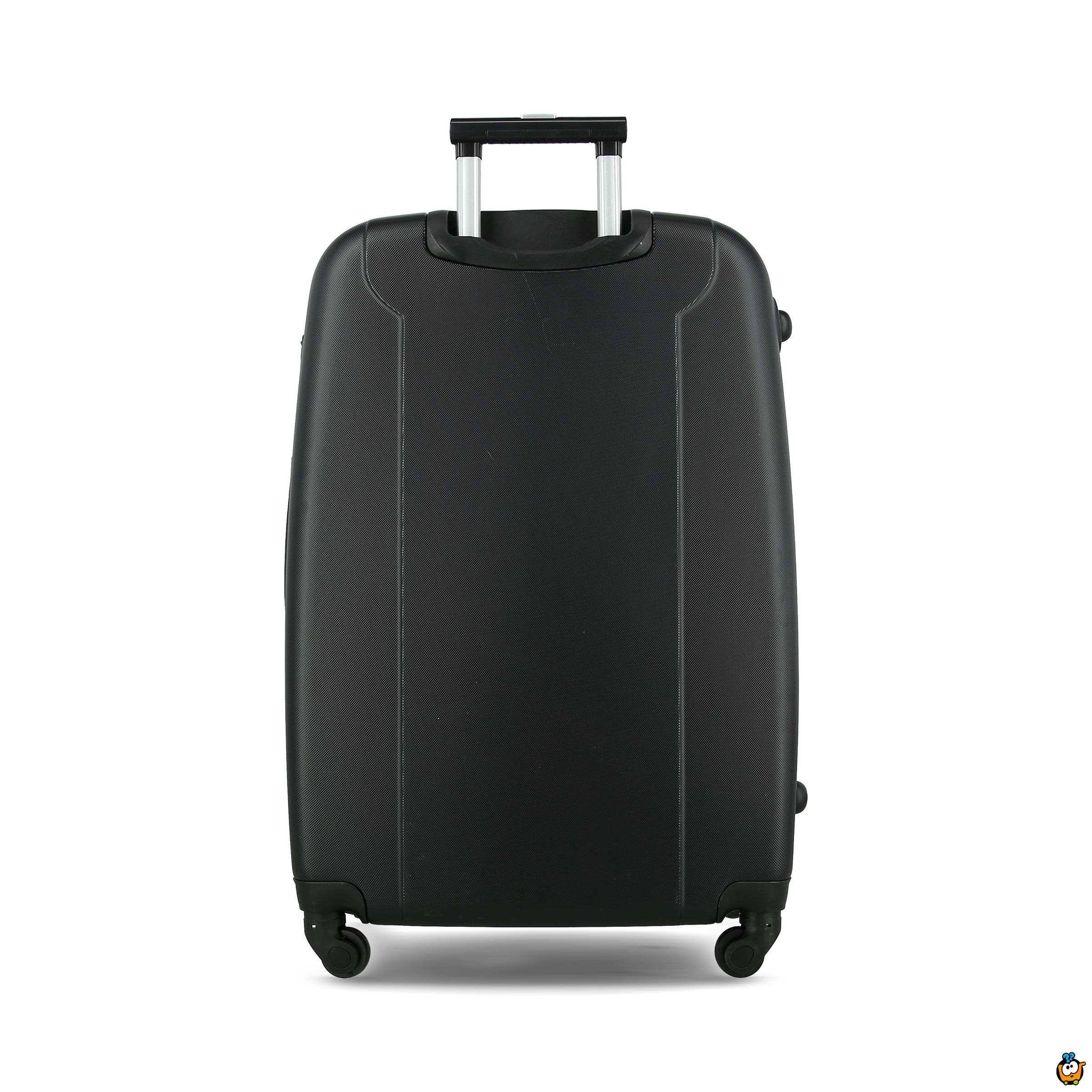 Putni kofer Expandable sa točkićima 360° -  CRNI L