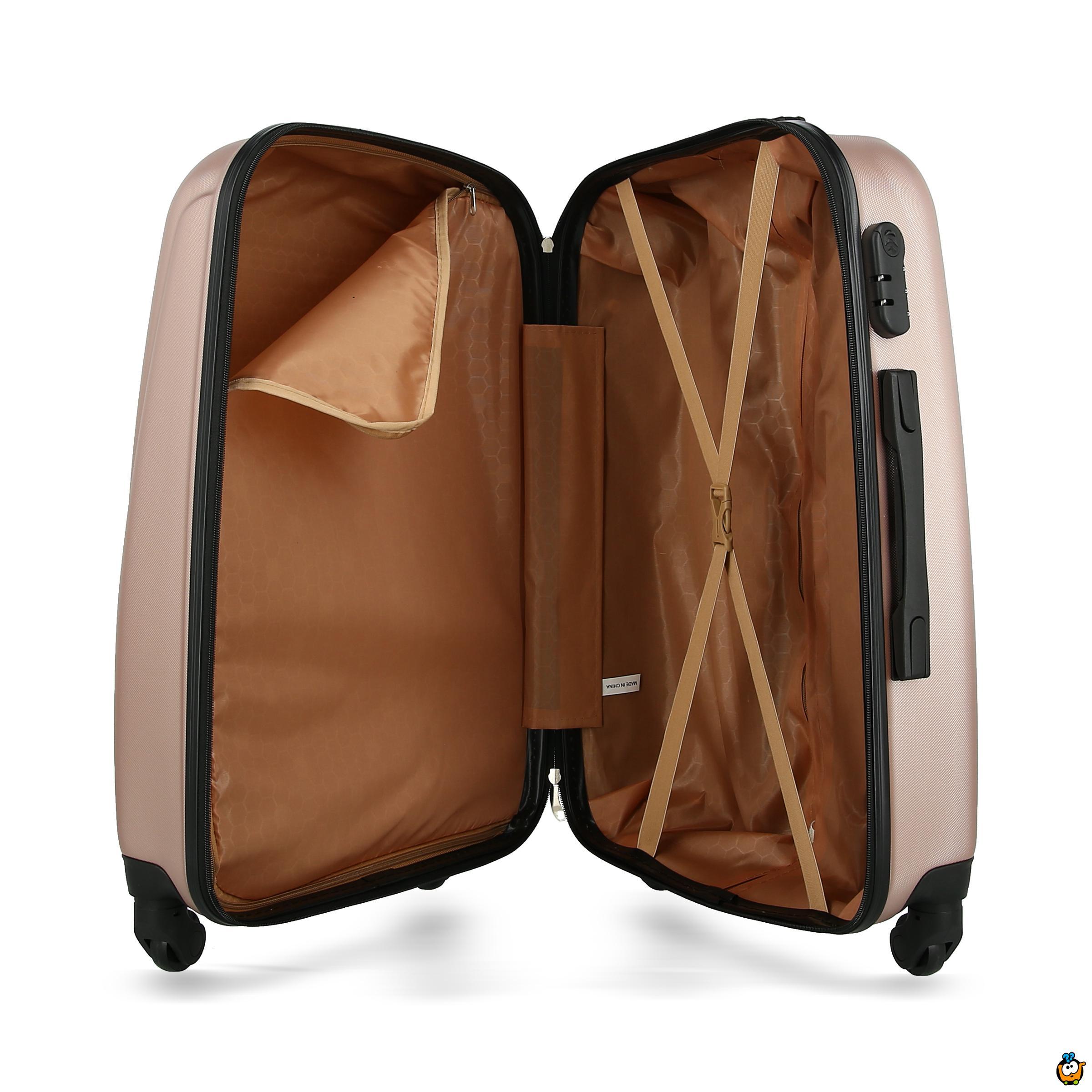 Putni kofer Expandable sa točkićima 360° -  PINK L