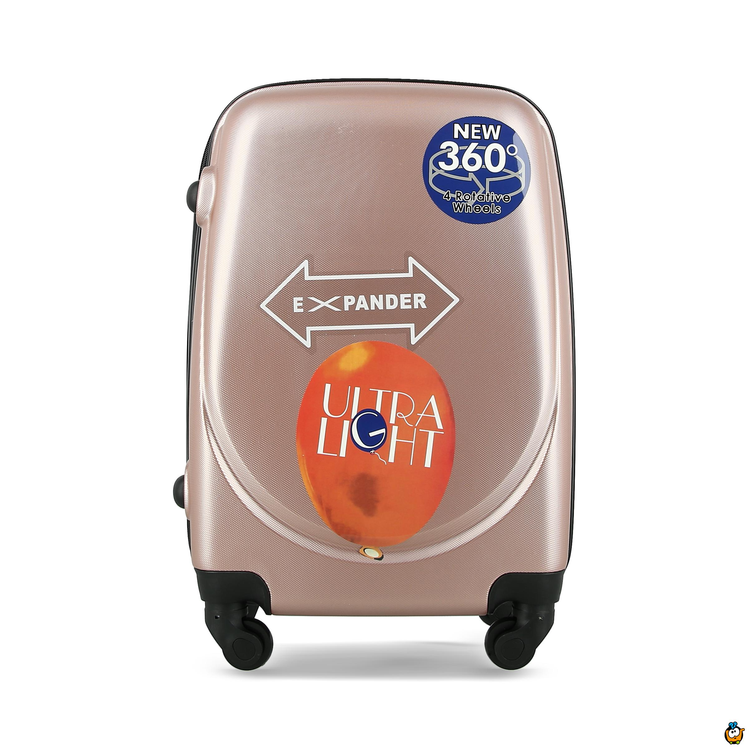 Putni kofer Expandable sa točkićima 360° -  PINK M