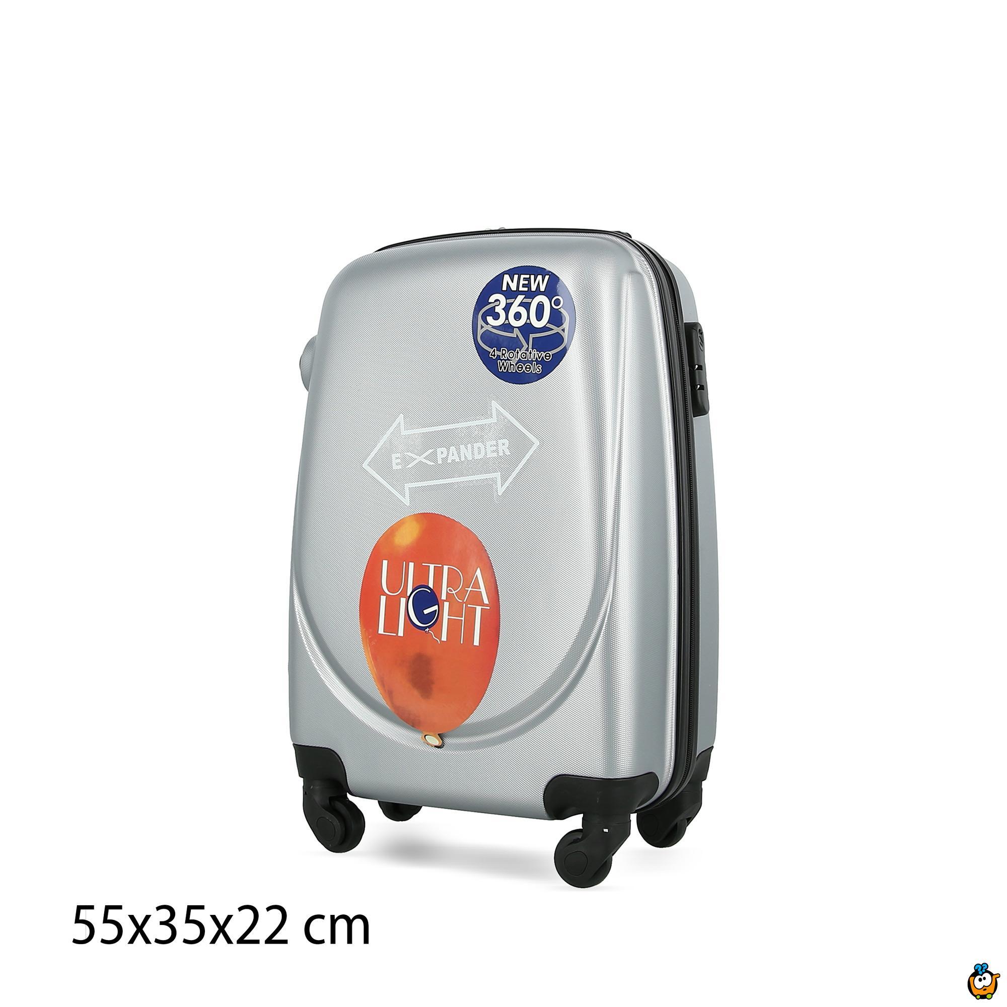 Putni kofer Expandable sa točkićima 360° -  SIVI M