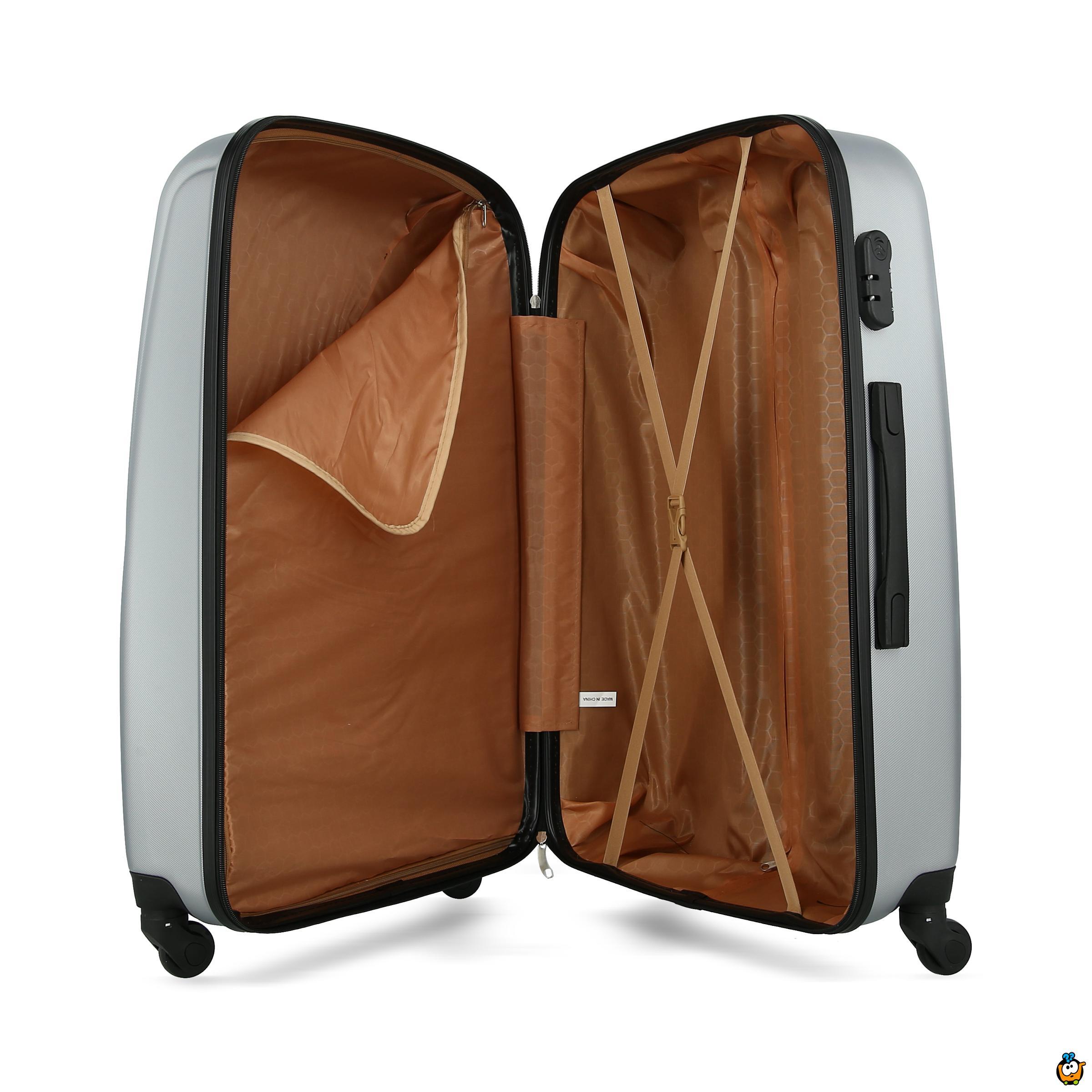 Putni kofer Expandable sa točkićima 360° -  SIVI L