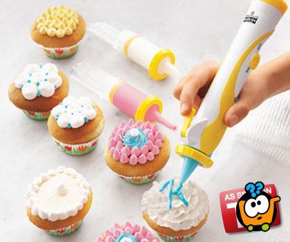 Olovka-špric za dekoraciju torti i kolača
