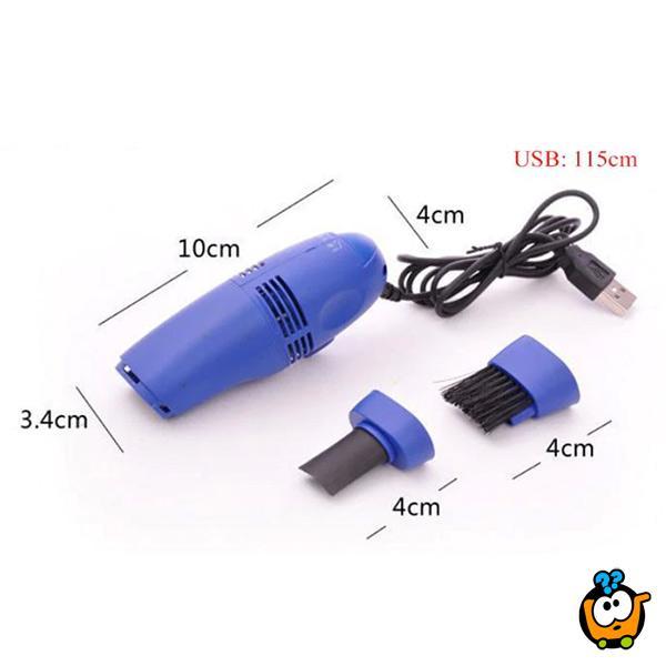Moćan mini USB usisivač za tastaturu