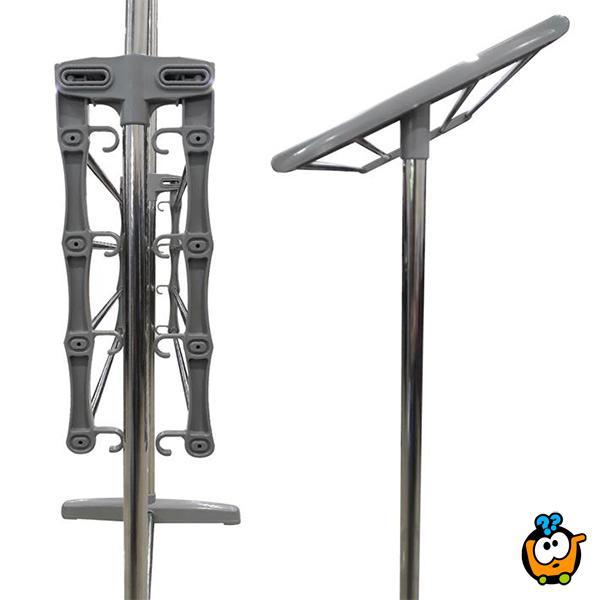 Dupli stalak za sušenje veša