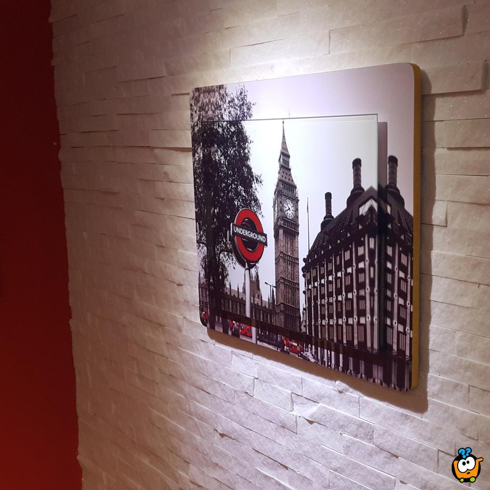 Moderna slika za lepši dom - London Red
