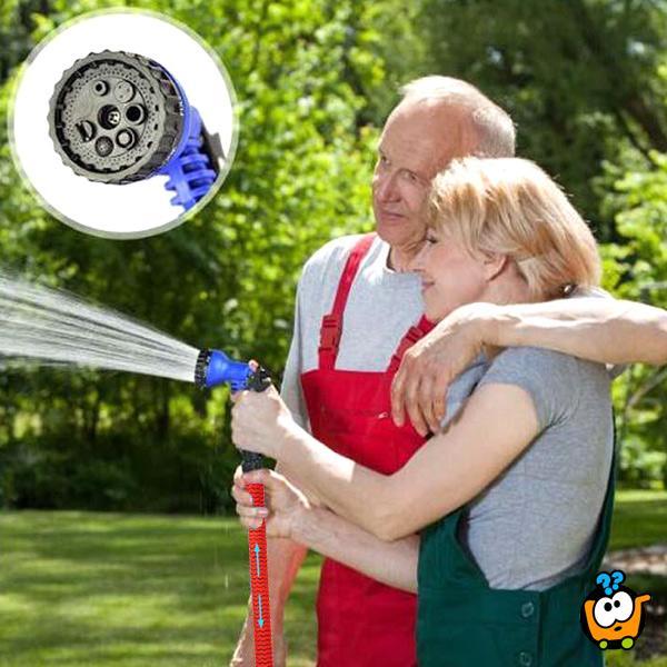 Magično rastegljivo crevo za vodu sa prskalicom - KING STRONG HOSE