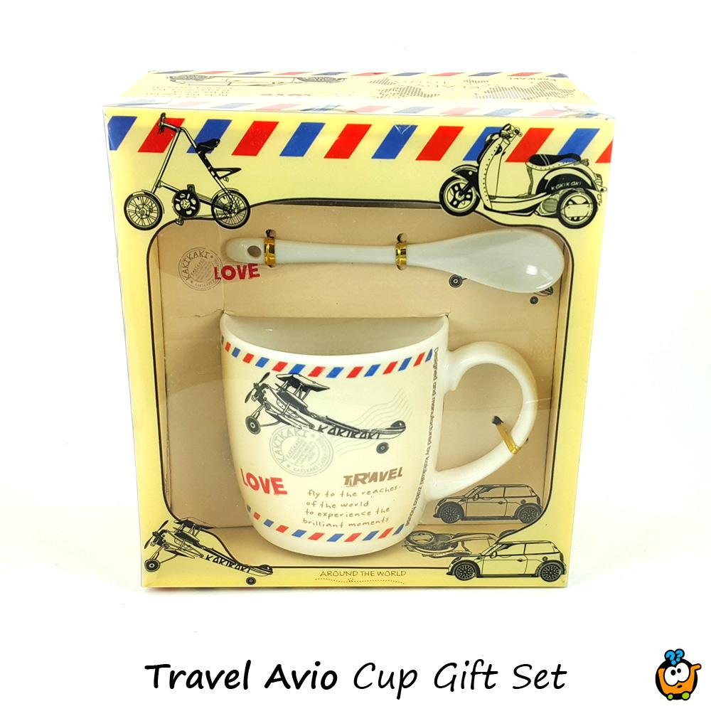 Šolja Love Travel Cup poklon set