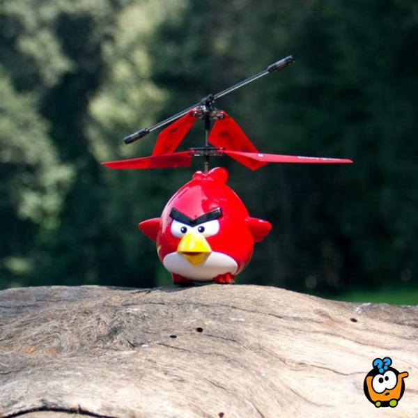 Leteći Angry Birds - Magičan helikopter sa senzorom za letenje