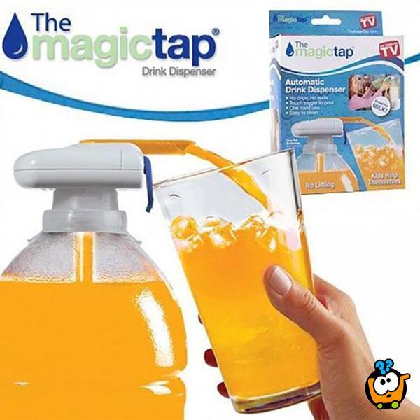 Magic Tap automatska česma za flaše - Prisloni i sipaj bez prosipanja