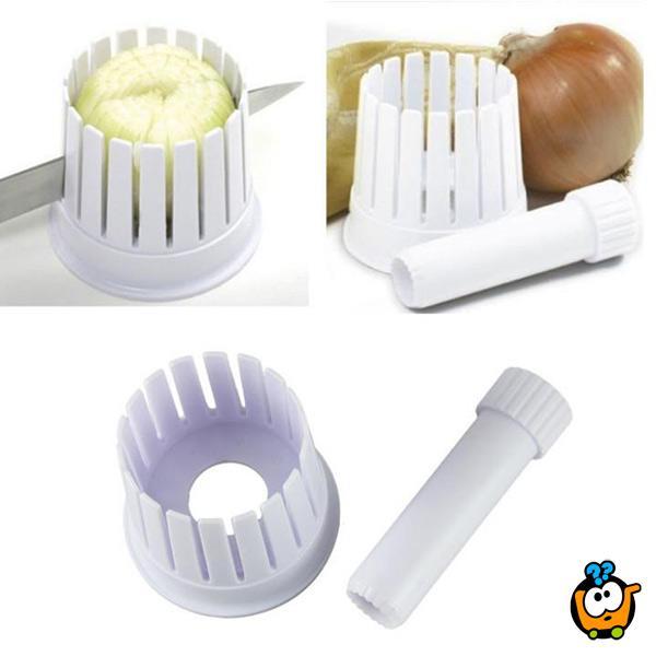 Onion Blossom Maker - Šablon za dekorativno sečenje crnog luka