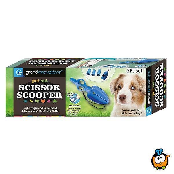 Scissor Scooper - Praktični sakupljač izmeta iza Vašeg ljubimca