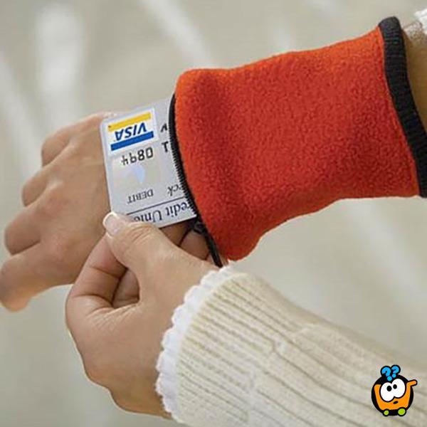 Wrist wallet - Novčanik za ručni zglob - 3 kom u pakovanju